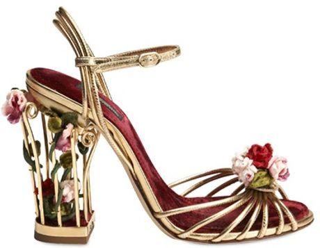 Женская Обувь - Сандалии DOLCE & GABBANA - DOLCE & GABBANA - КОЖАНЫЕ БОСОНОЖКИ купить в интернет магазине