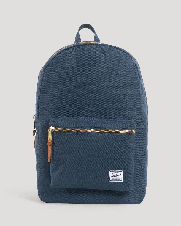 Herschel Supply Co Settlement Backpack: Herschel Supply Co. Settlement Backpack In Blue For Men