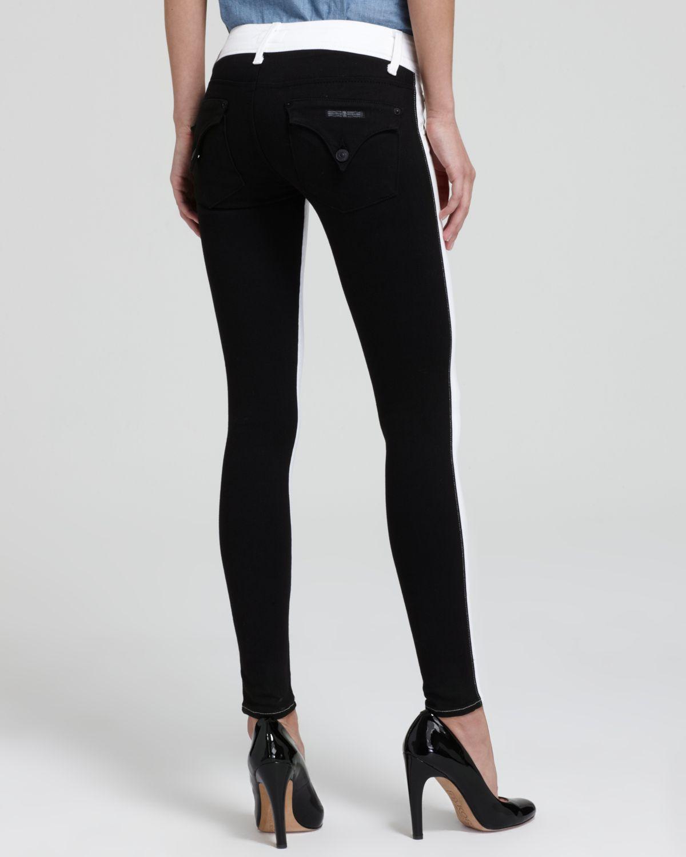 Hudson Jeans  Vice Versa Collin Skinny Jeans in White