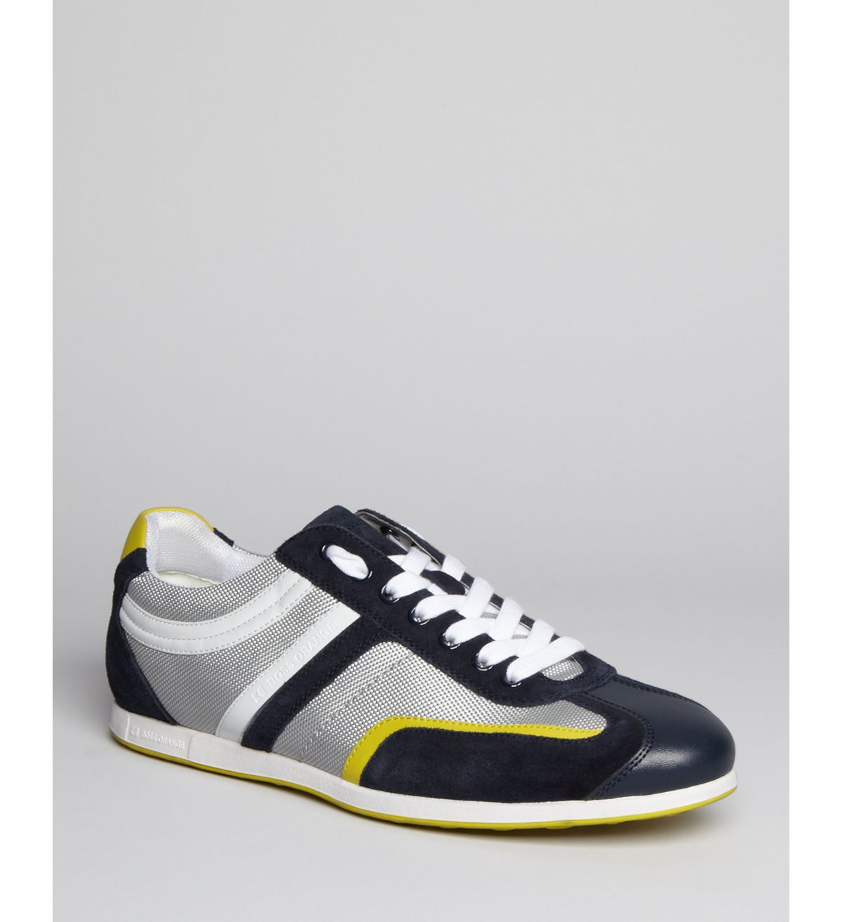 hugo boss boss orange silvans sneakers in for men navy. Black Bedroom Furniture Sets. Home Design Ideas
