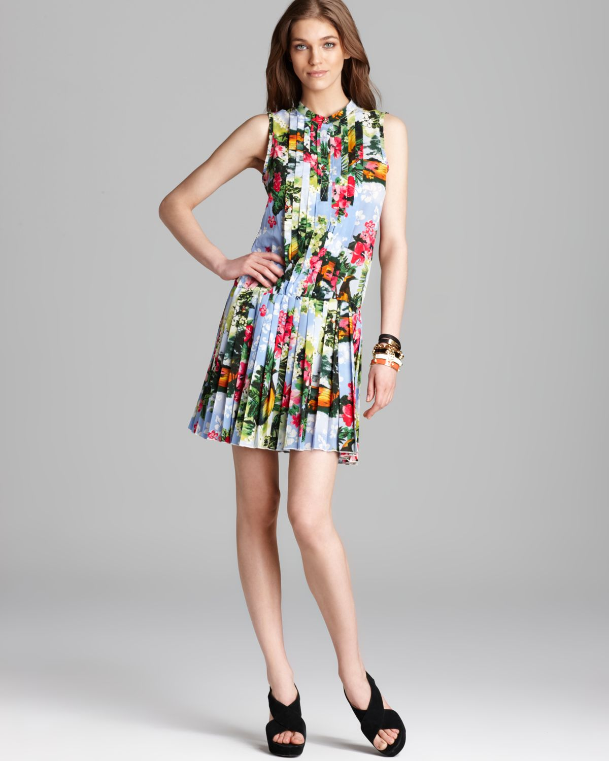 f78039ff97 Lyst - Juicy Couture Dress Paradise Floral