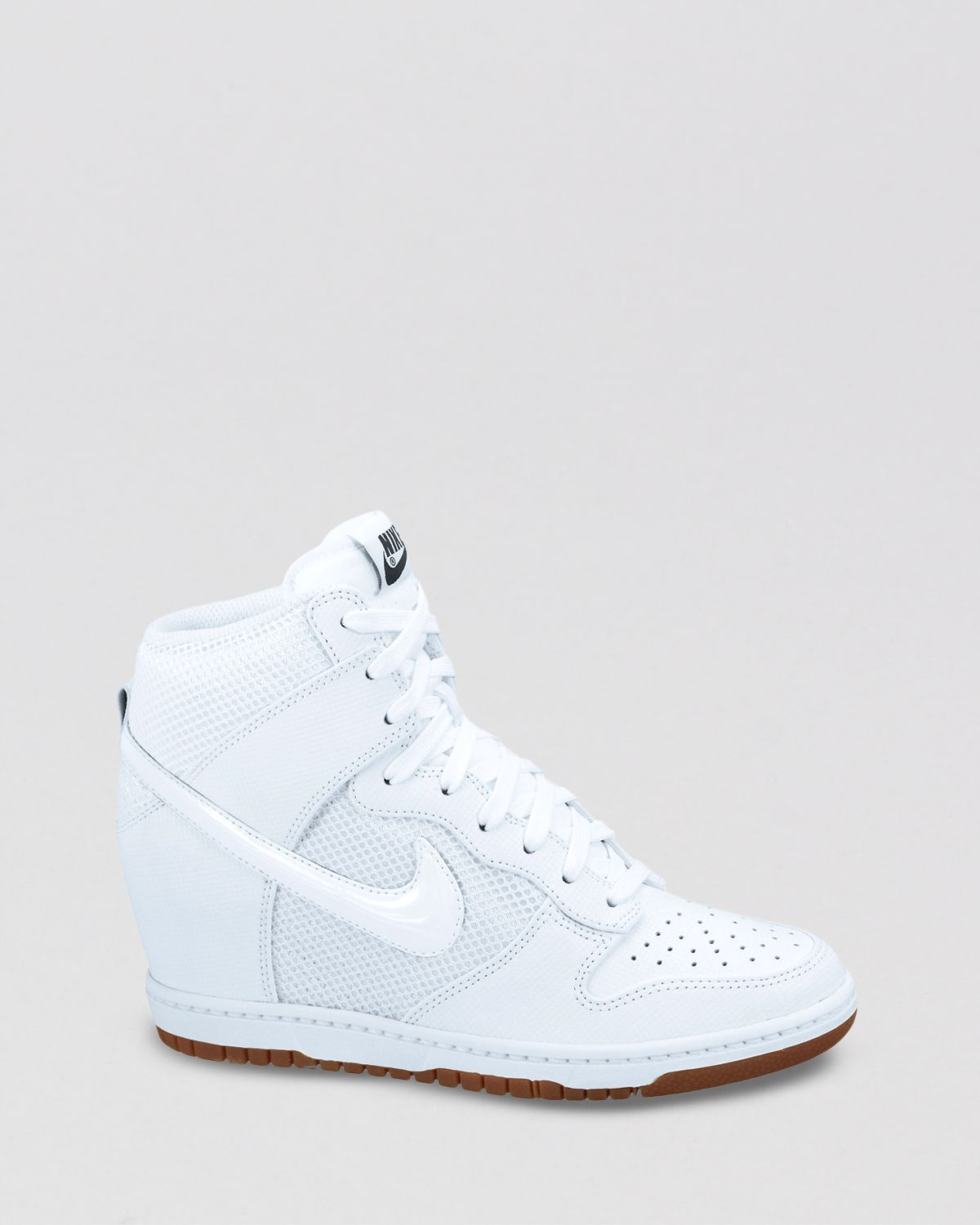 Lyst - Nike Lace Up High Top Sneaker Wedges Womens Dunk -5838