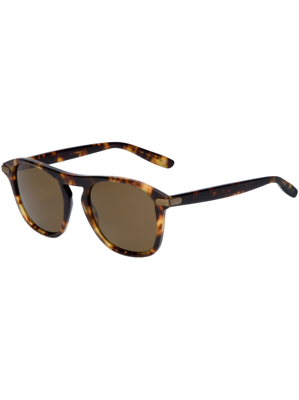 round tortoiseshell sunglasses - Brown Bottega Veneta HYeJMcmBb