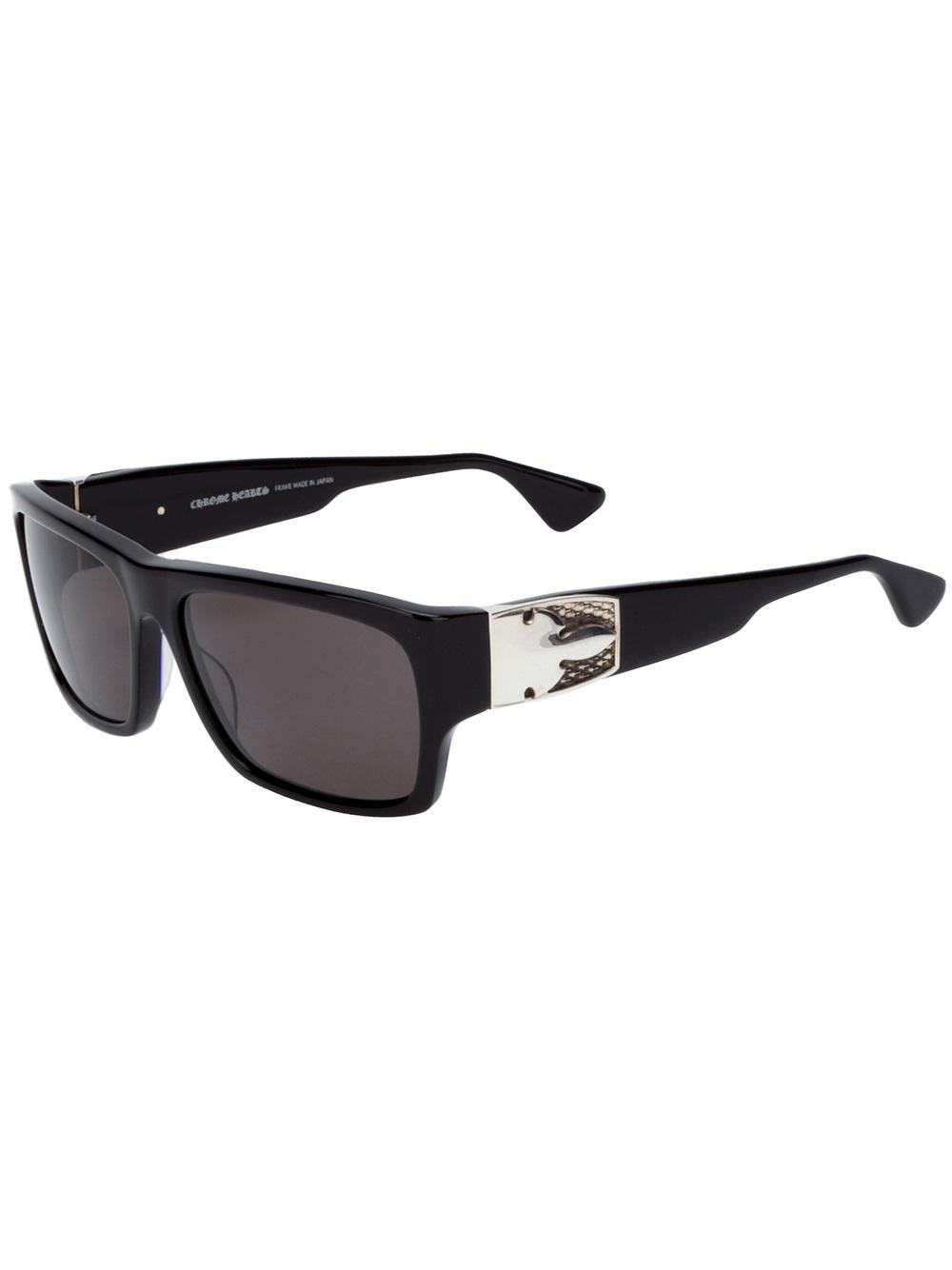 ebbc5524ccb Lyst - Chrome Hearts G Money Iv Sunglasses in Black