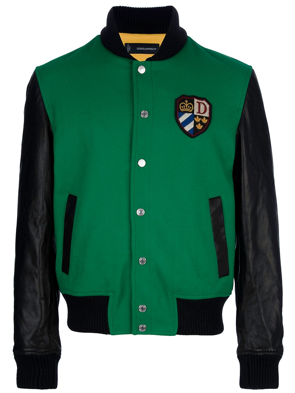 Dsquared² Baseball Jacket in Green for Men | Lyst