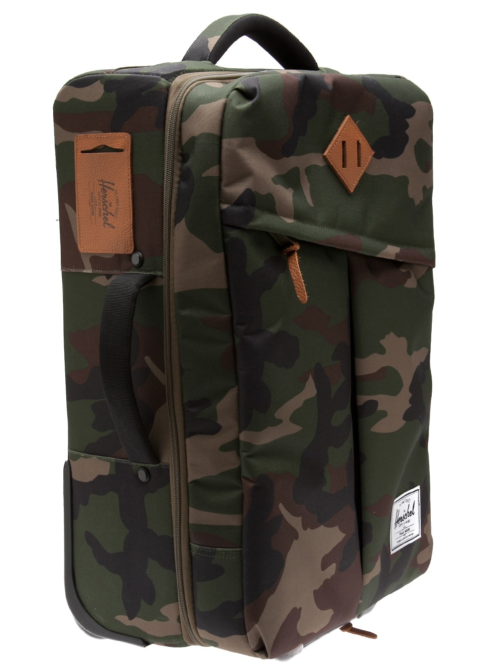 Camouflage Rolling Luggage Mc Luggage