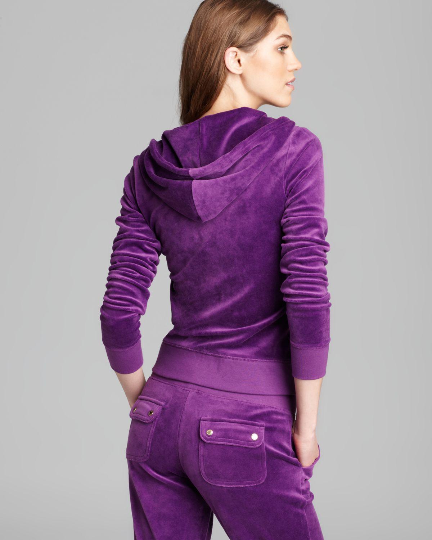 Juicy Couture Hooide J Bling in Purple - Lyst