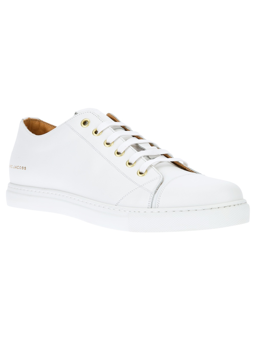 Marc Jacobs Leather Lace-Up Sneaker in