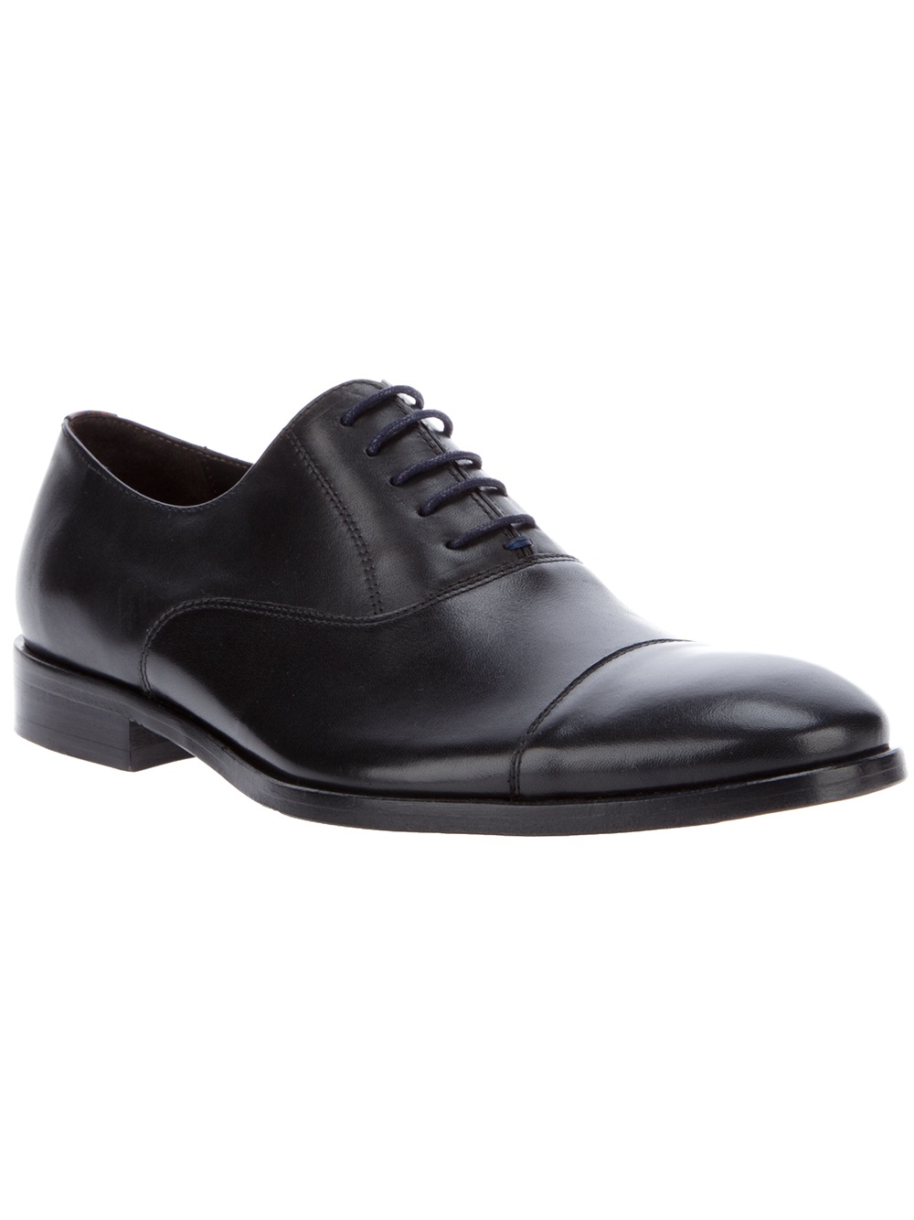 paul smith lace up shoe in black for lyst