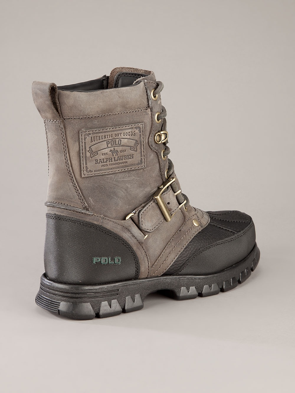 Polo Ralph Lauren Ankle Boot in Grey