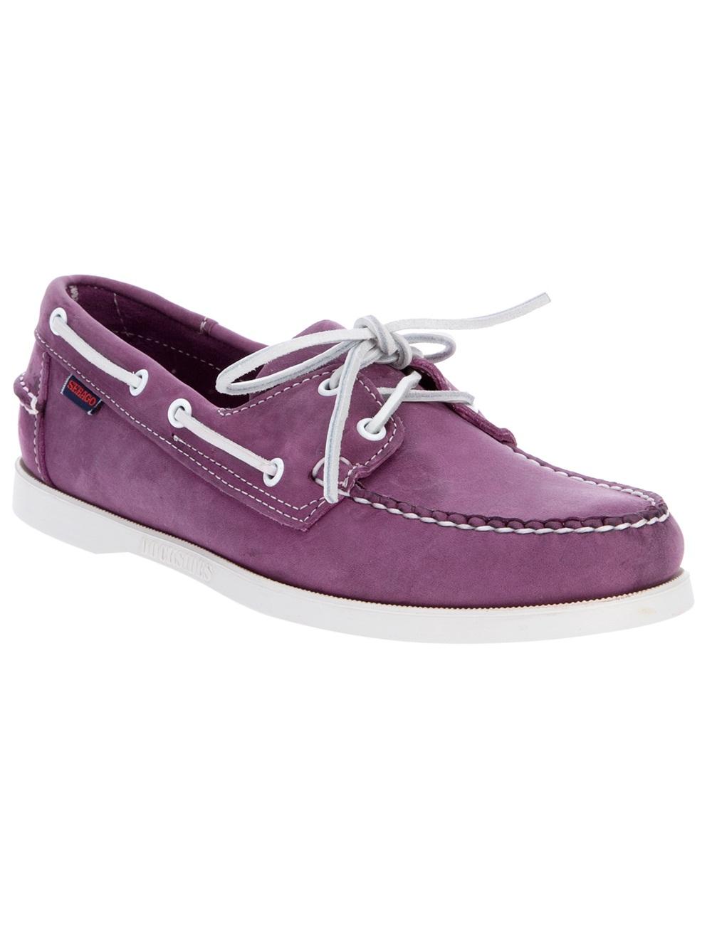Sebago Docksides Shoe in Lavender (Purple) for Men