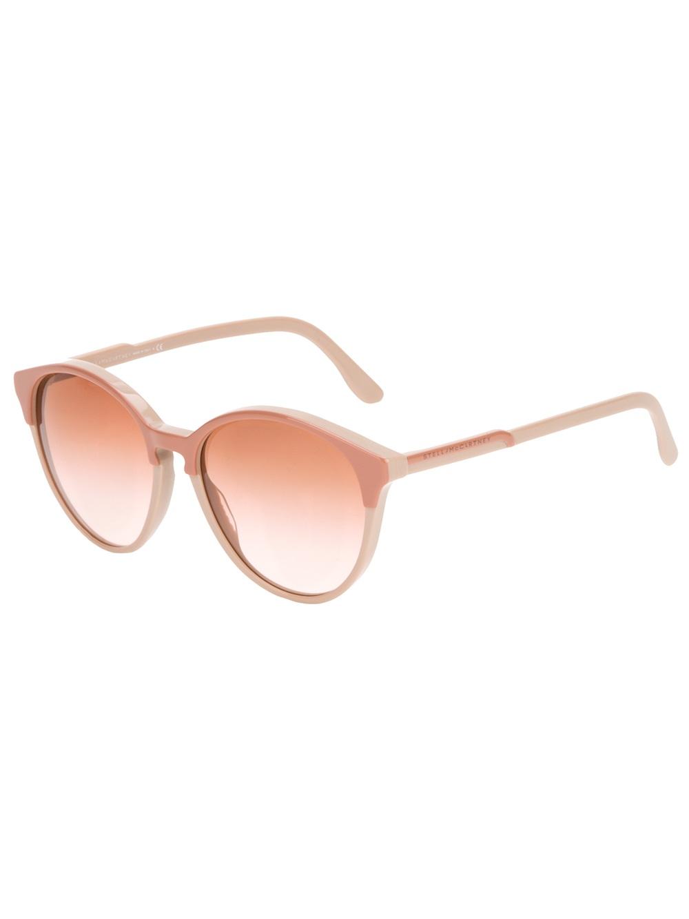 3fd94c65c7e Pink Sunglasses In Mccartney Stella Lyst TIqUpp