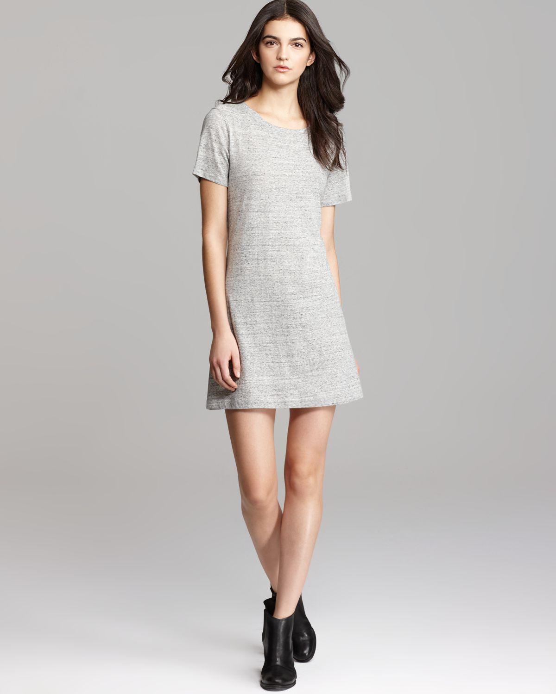 Theory Gray Dress