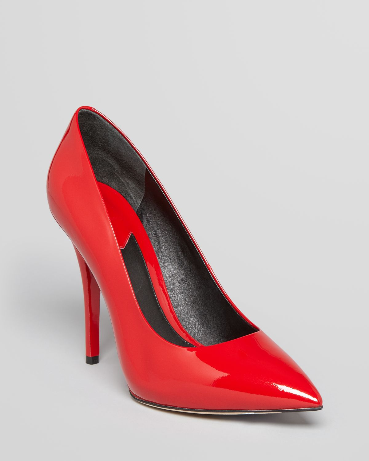 B brian atwood Pointed Toe Platform Pumps Desires High Heel in Red ...