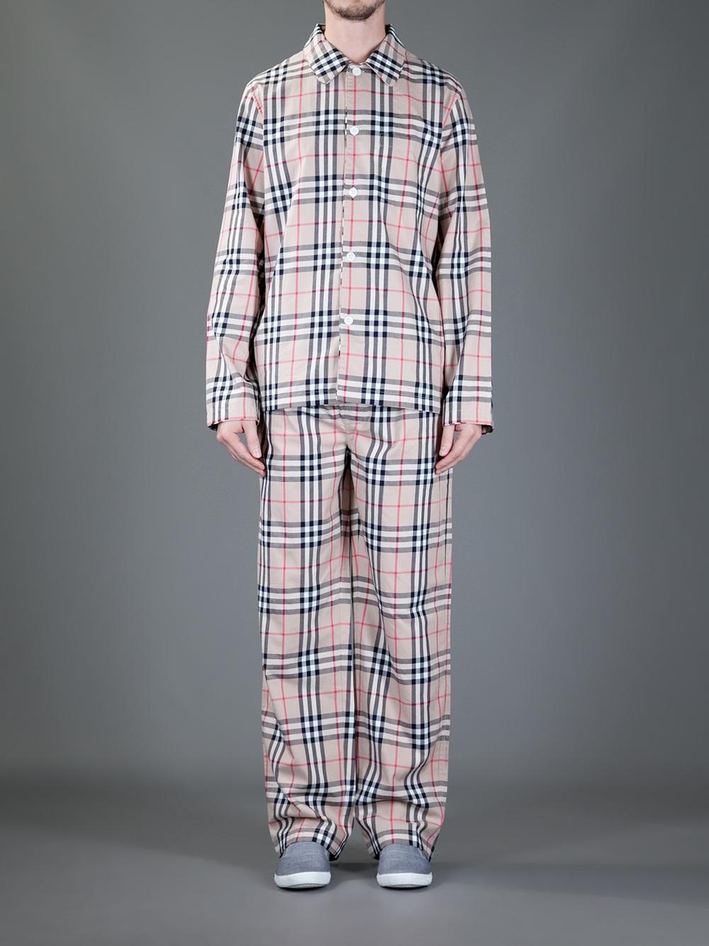 Mens Burberry Nightwear   Lyst™