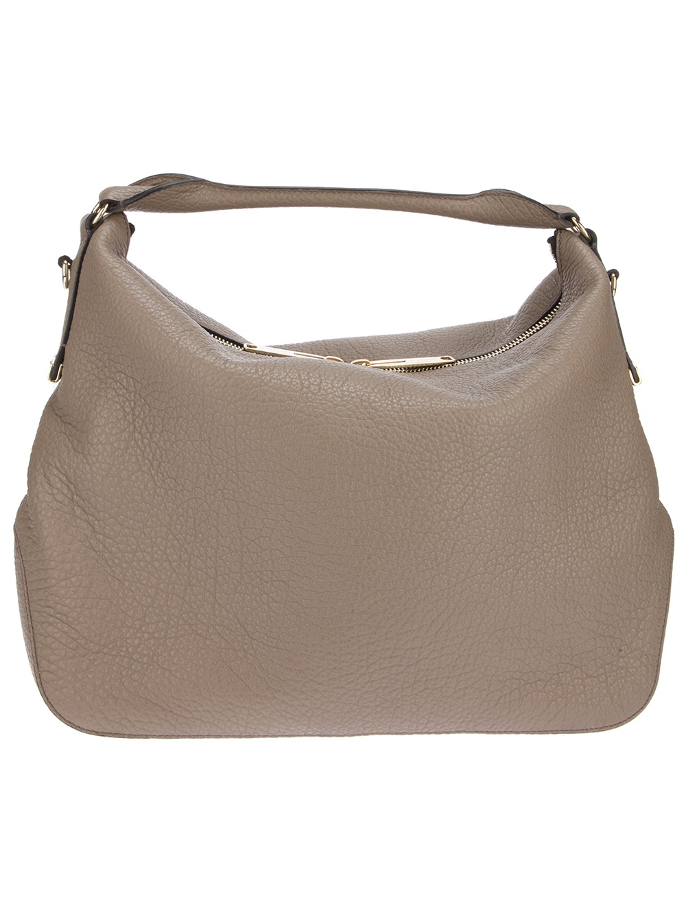 Burberry Ledbury Hobo Bag in Brown | Lyst