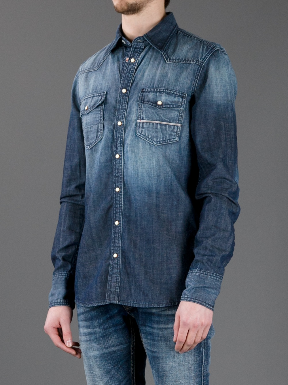 Buy Cheap Buy DENIM - Denim shirts Care Label Real Cheap Price Multi Coloured Discount Pay With Visa Outlet Pre Order emDvro2Jp