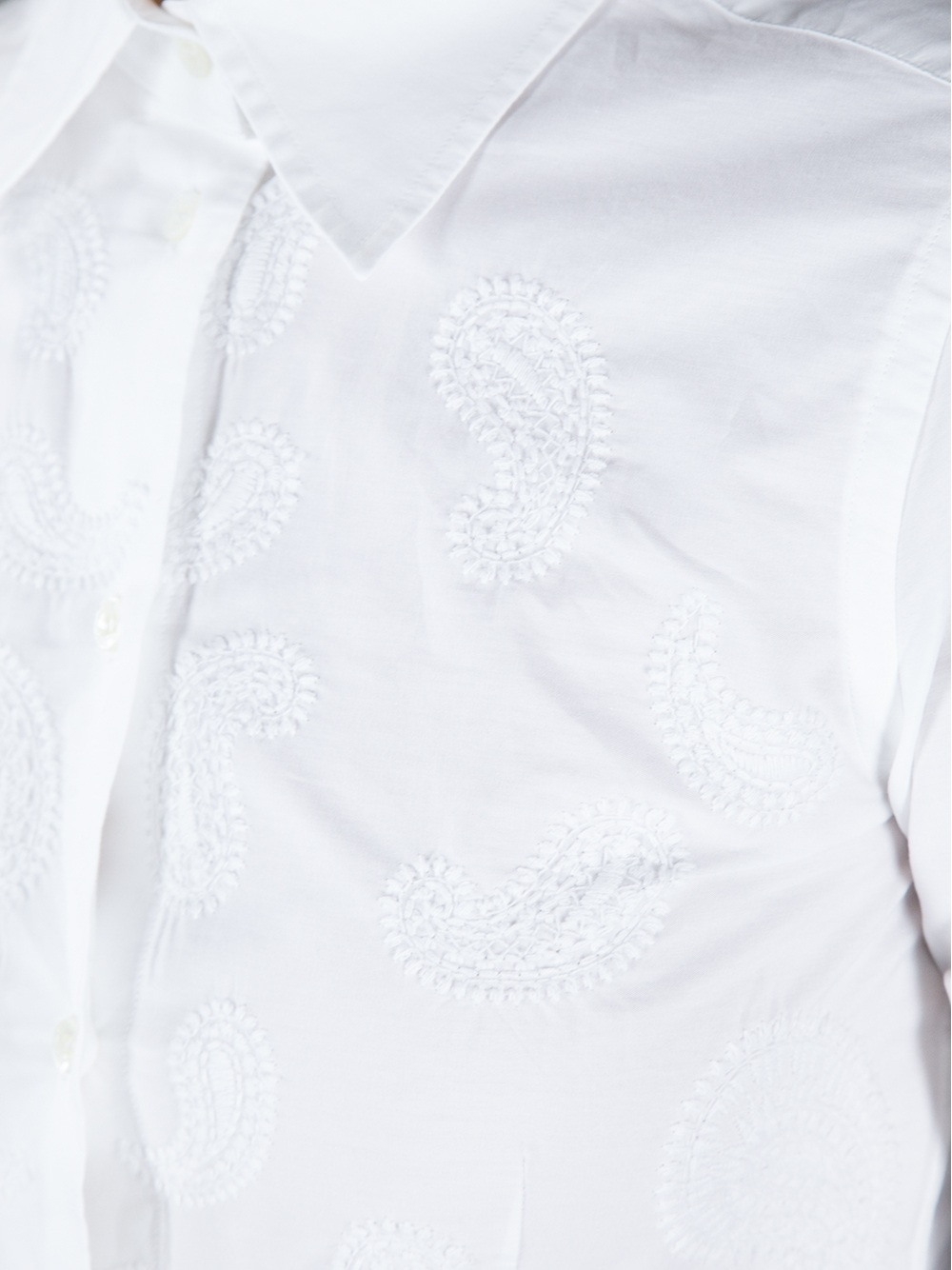 Clearance Real paisley shirt - White Etro Cheap Sale Extremely Cheapest Clearance Low Shipping Fee Outlet Cheapest UkvZO