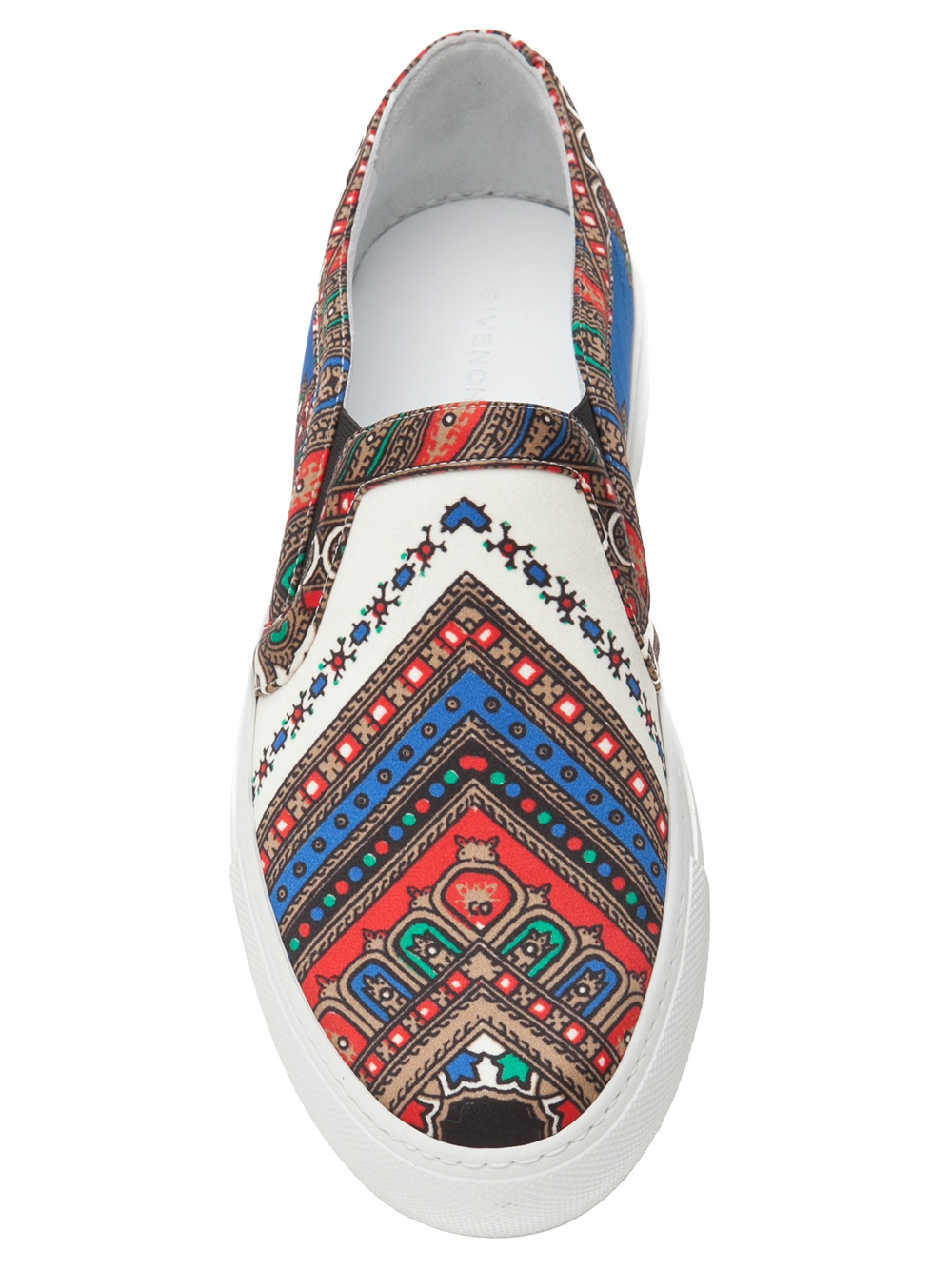 Givenchy Paisley Print Sneaker - Lyst