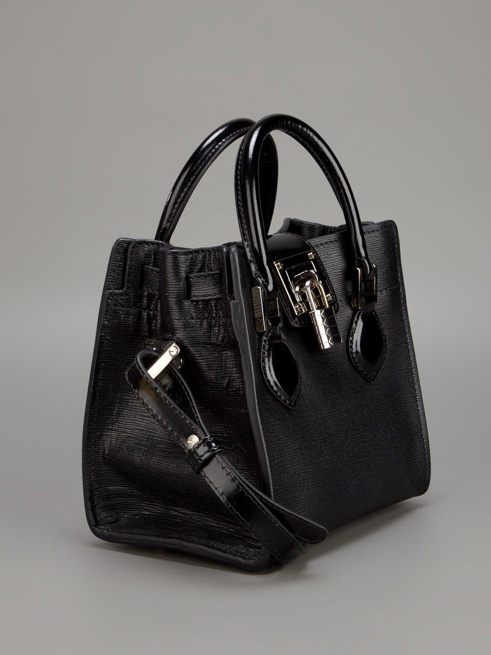 Lyst - Roberto Cavalli Florence Bag in Black e047a297b