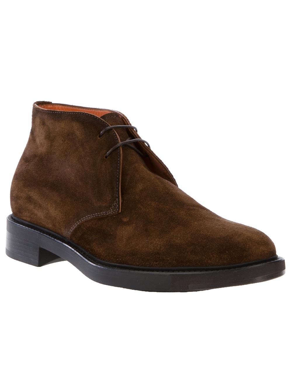 Santoni Desert Boots - Marron BkqVg