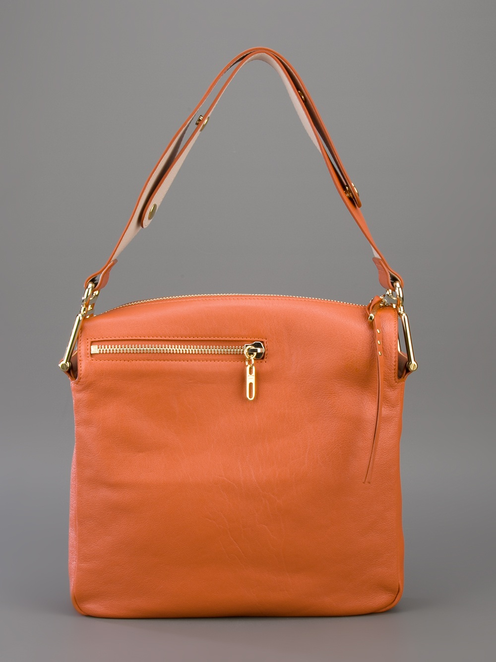 Chloé Vanessa Crossbody Bag in Yellow & Orange (Orange)