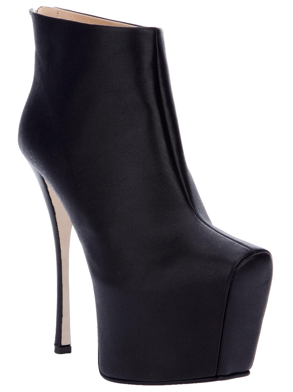 platform stiletto boots - Black Giuseppe Zanotti W9hx8dn