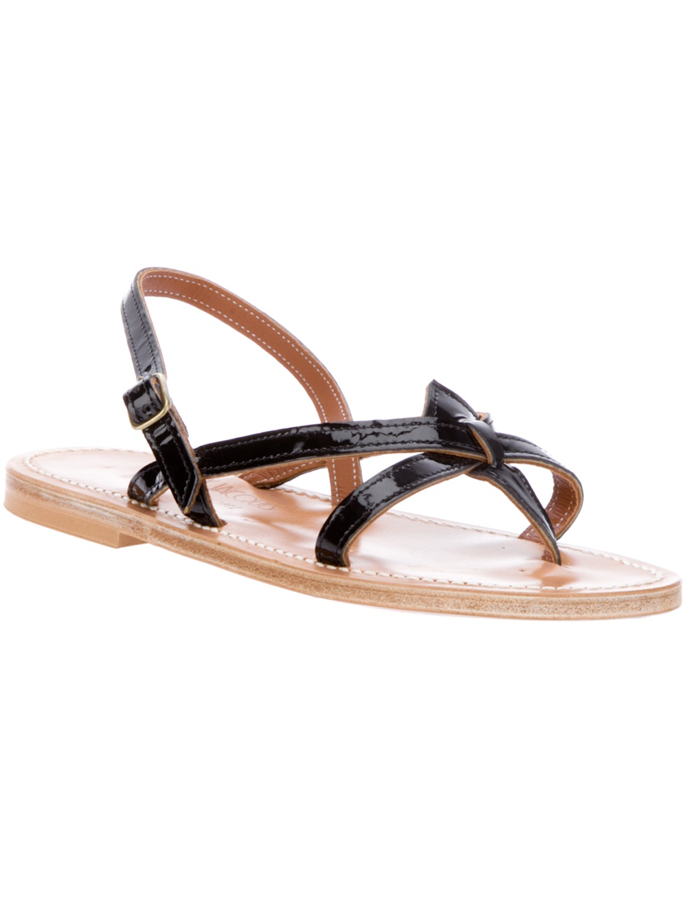 Dark grey Orion sandals K.Jacques Best Selling Cheap Sale Latest Collections Best Cheap Online 5yoOHumX81