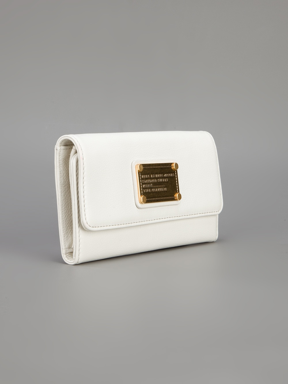 0f1b96f741 Marc By Marc Jacobs Wallet in White - Lyst