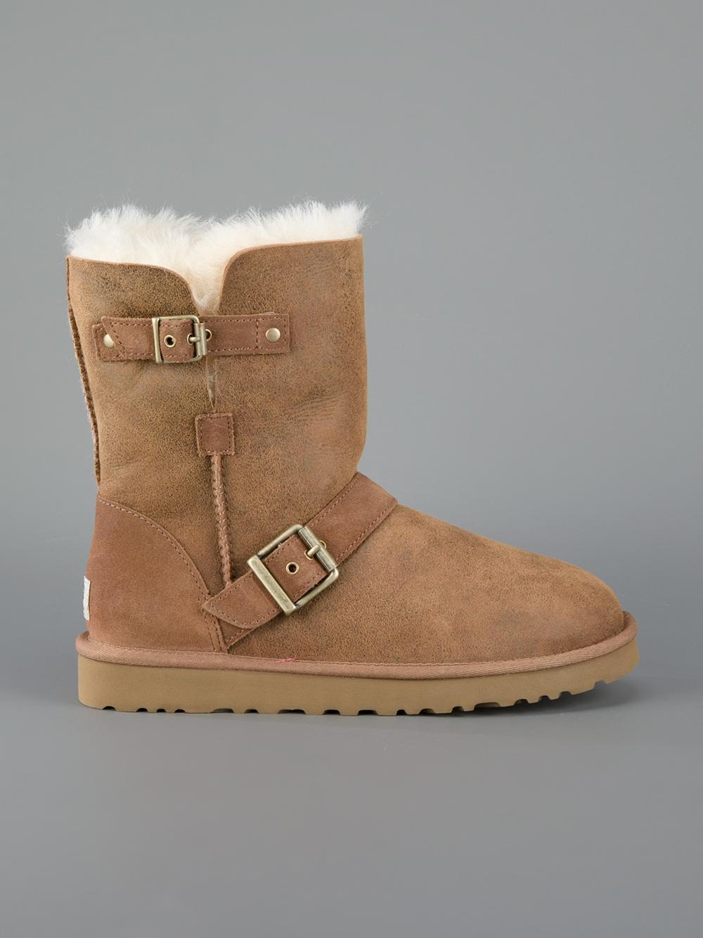 a101e60134e UGG Brown Round Toe Boot