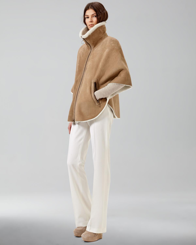 Akris punto Womens Marilyn Straightleg Pants in White | Lyst