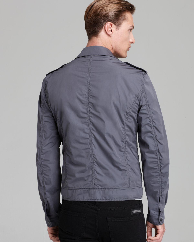 Burberry Brit Middlesham Lightweight Jacket in Gray for Men | Lyst