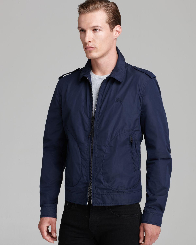 Burberry Brit Middlesham Lightweight Jacket in Blue for Men   Lyst