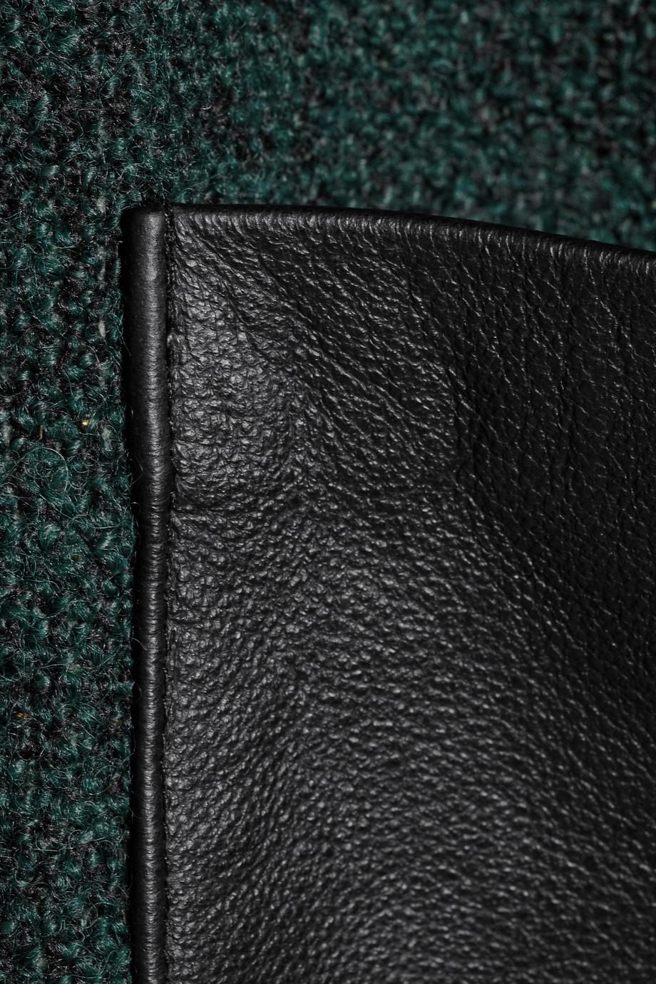 lyst day birger et mikkelsen knitted coat in green. Black Bedroom Furniture Sets. Home Design Ideas