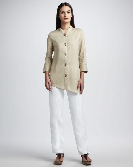 Womens Linen Blouses 117