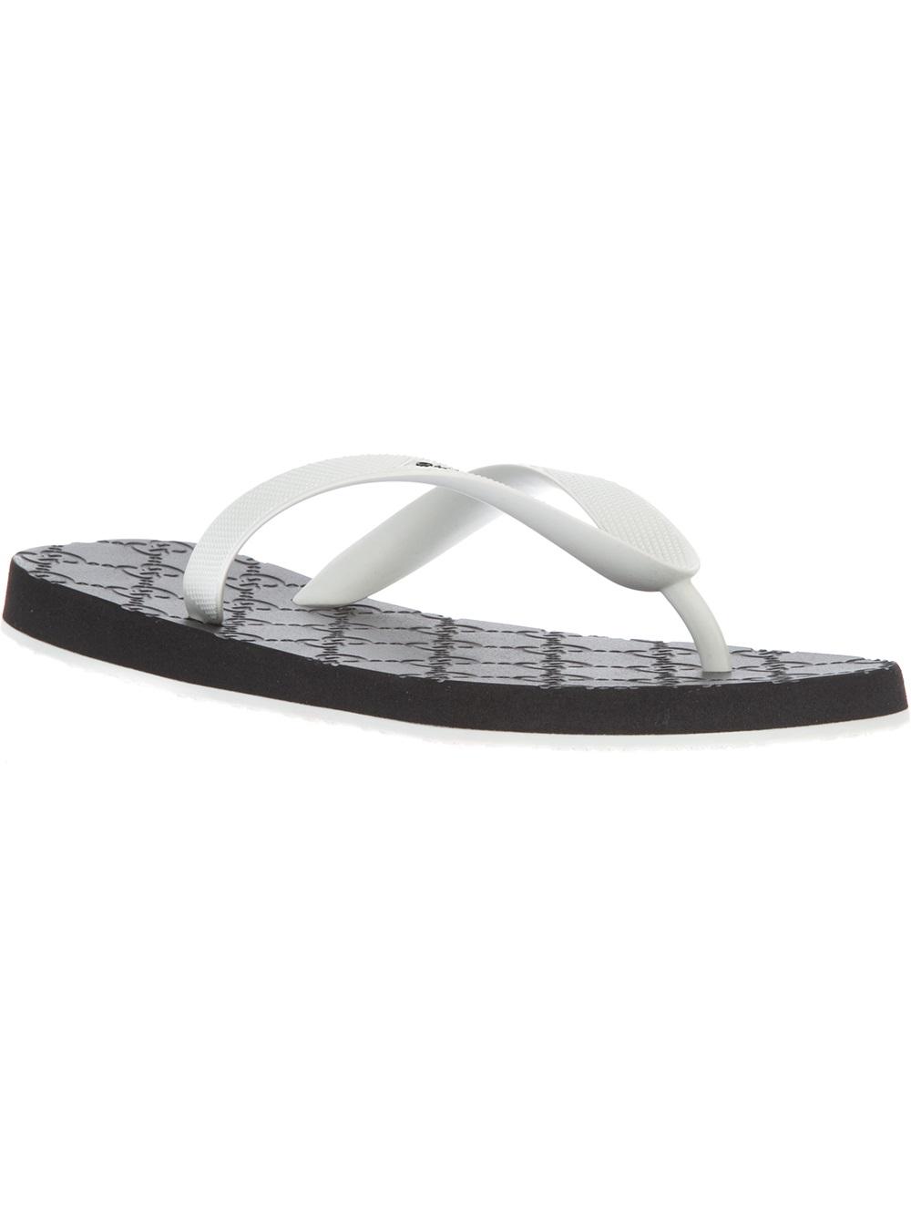 Gucci Bedlam Flip Flop In Black  Lyst-3024