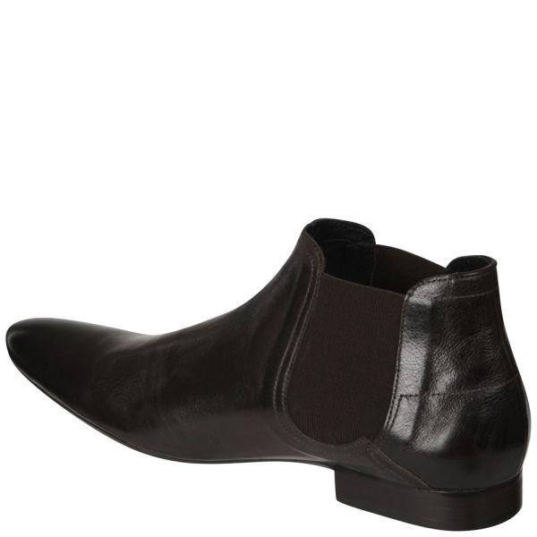 h by hudson hudson mens moran leather chelsea boot in. Black Bedroom Furniture Sets. Home Design Ideas