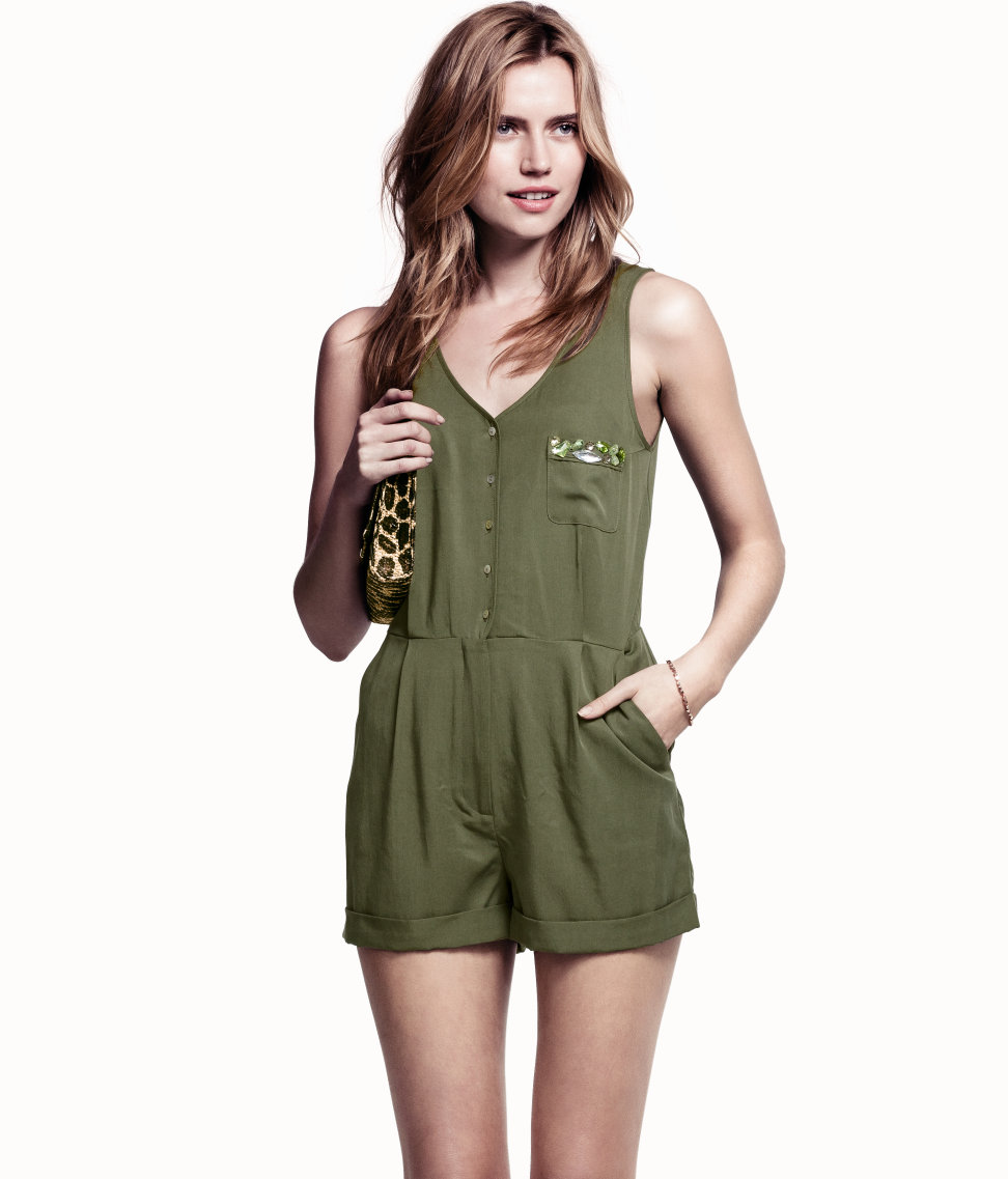 Find green from the Womens department at Debenhams. Shop a wide range of Playsuits & jumpsuits products and more at our online shop today. Menu Tall khaki palm print jumpsuit Save. Was £ Now £ Quiz Green ribbed stripe jumpsuit Save. Was £ Now £ Dorothy Perkins.