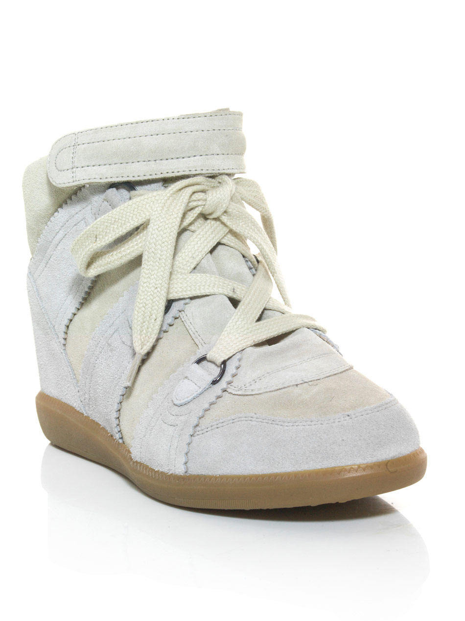 2566e59bba Isabel Marant Bluebell Hidden Wedge Trainers in Blue - Lyst