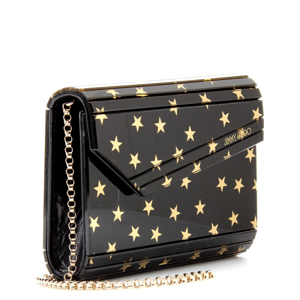 69dafef787ce Jimmy Choo Candy Star Clutch in Metallic - Lyst