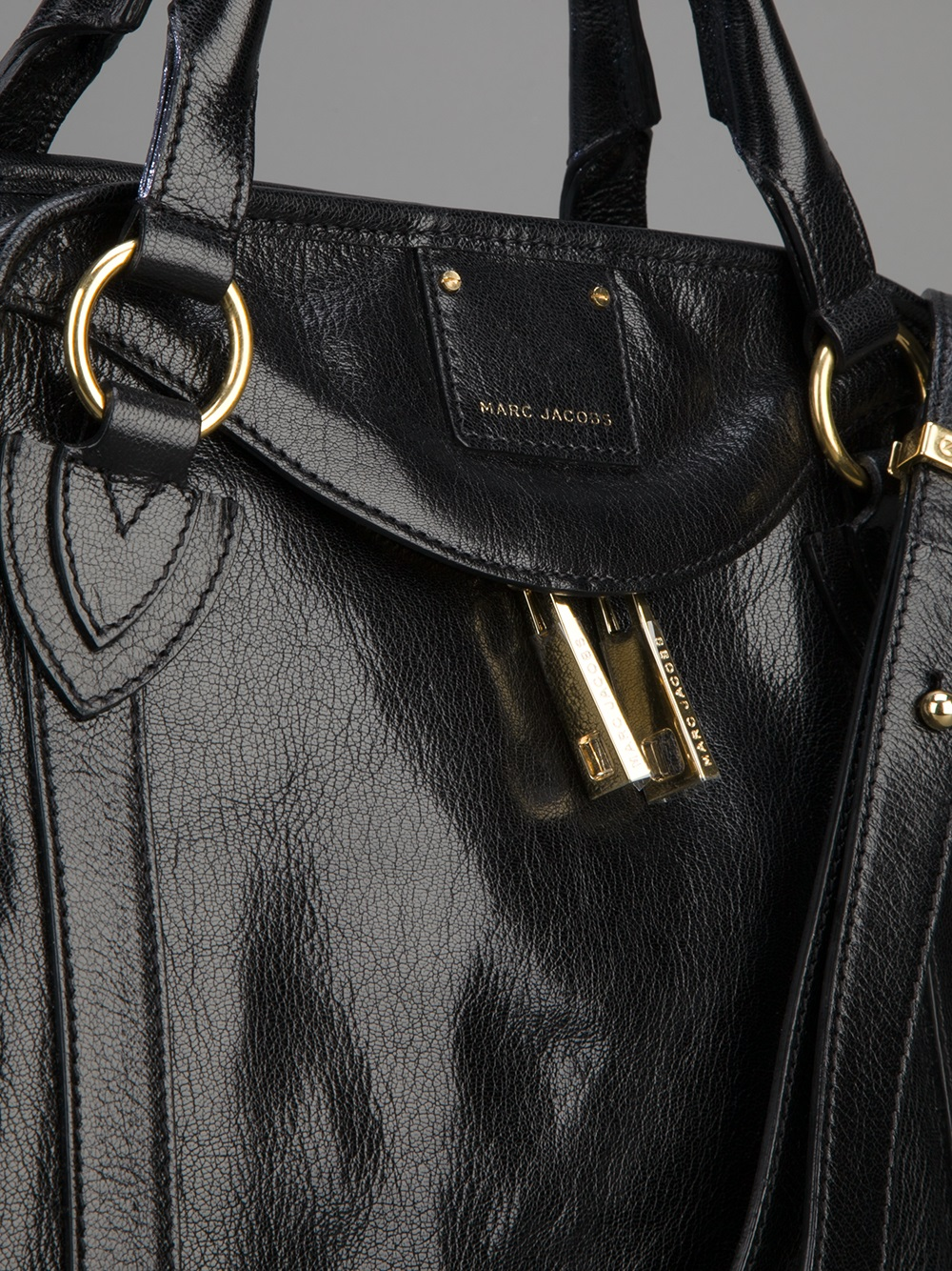 Marc Jacobs Fulton Tote in Black