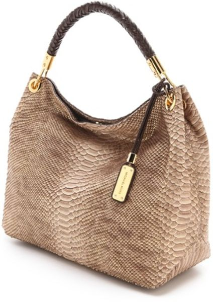 Michael Kors Skorpios Large Shoulder Bag Cinnamon Textured Leather 61