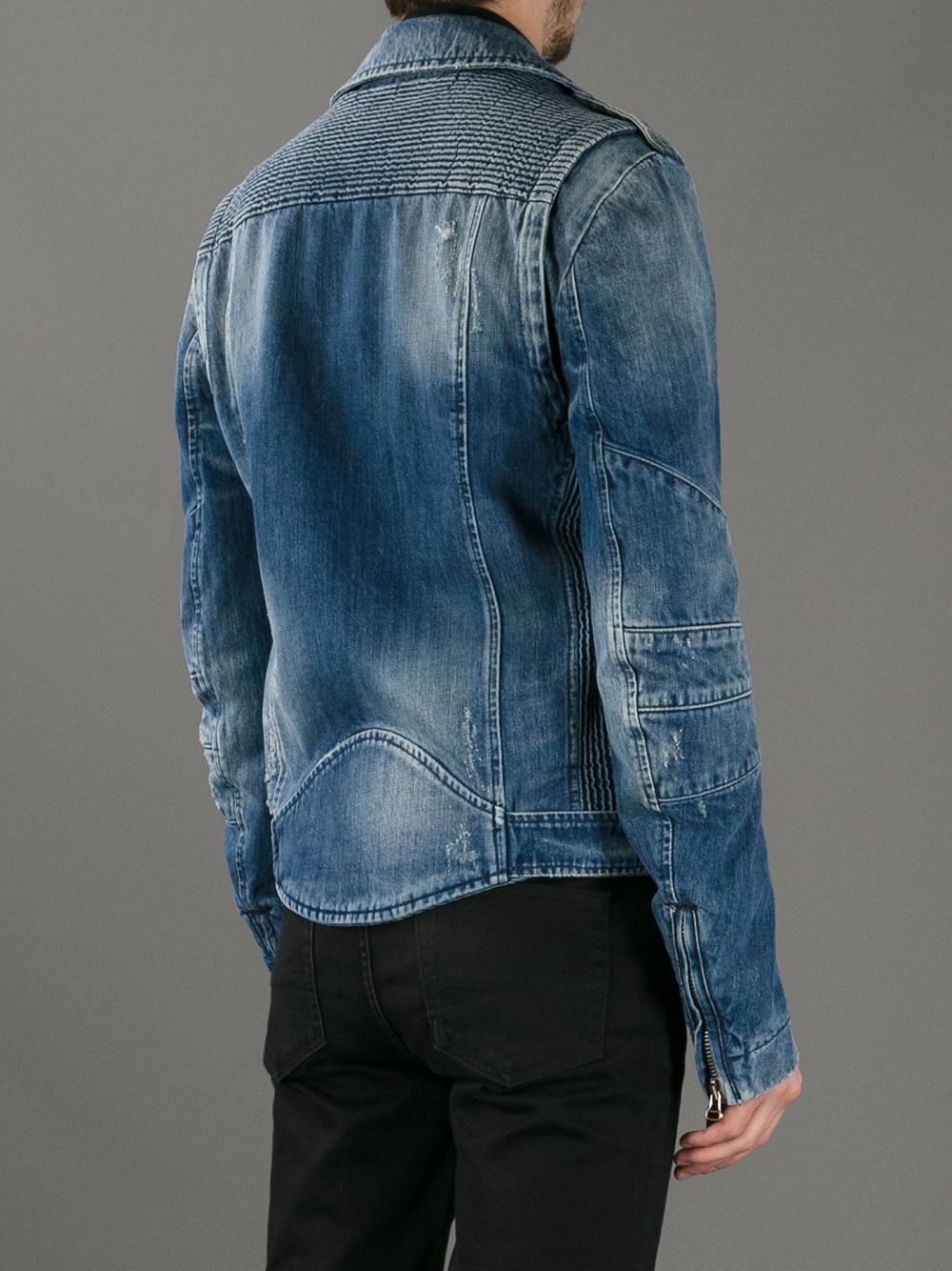 Find denim biker jacket from a vast selection of Clothing for Men. Get great deals on eBay!