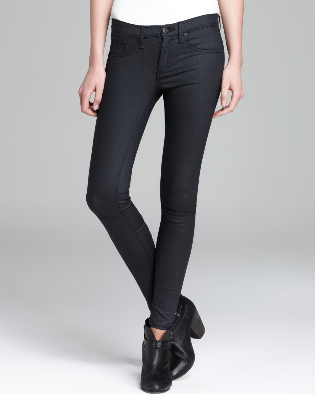 Rag & Bone Jeans Devi Lace Up In Blue