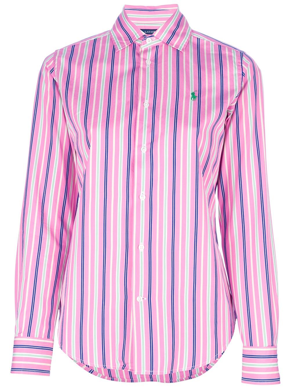 Pink striped shirt custom shirt for Pink white striped shirt