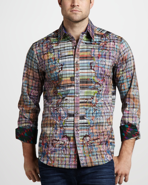 Robert graham limited edition deckman sport shirt in for Robert graham sport shirt