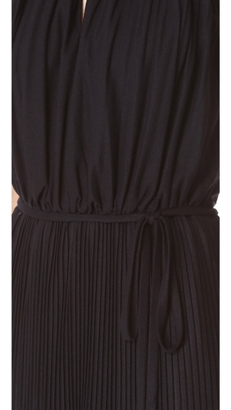 Shoshanna Keyhole Maxi Dress In Black Lyst