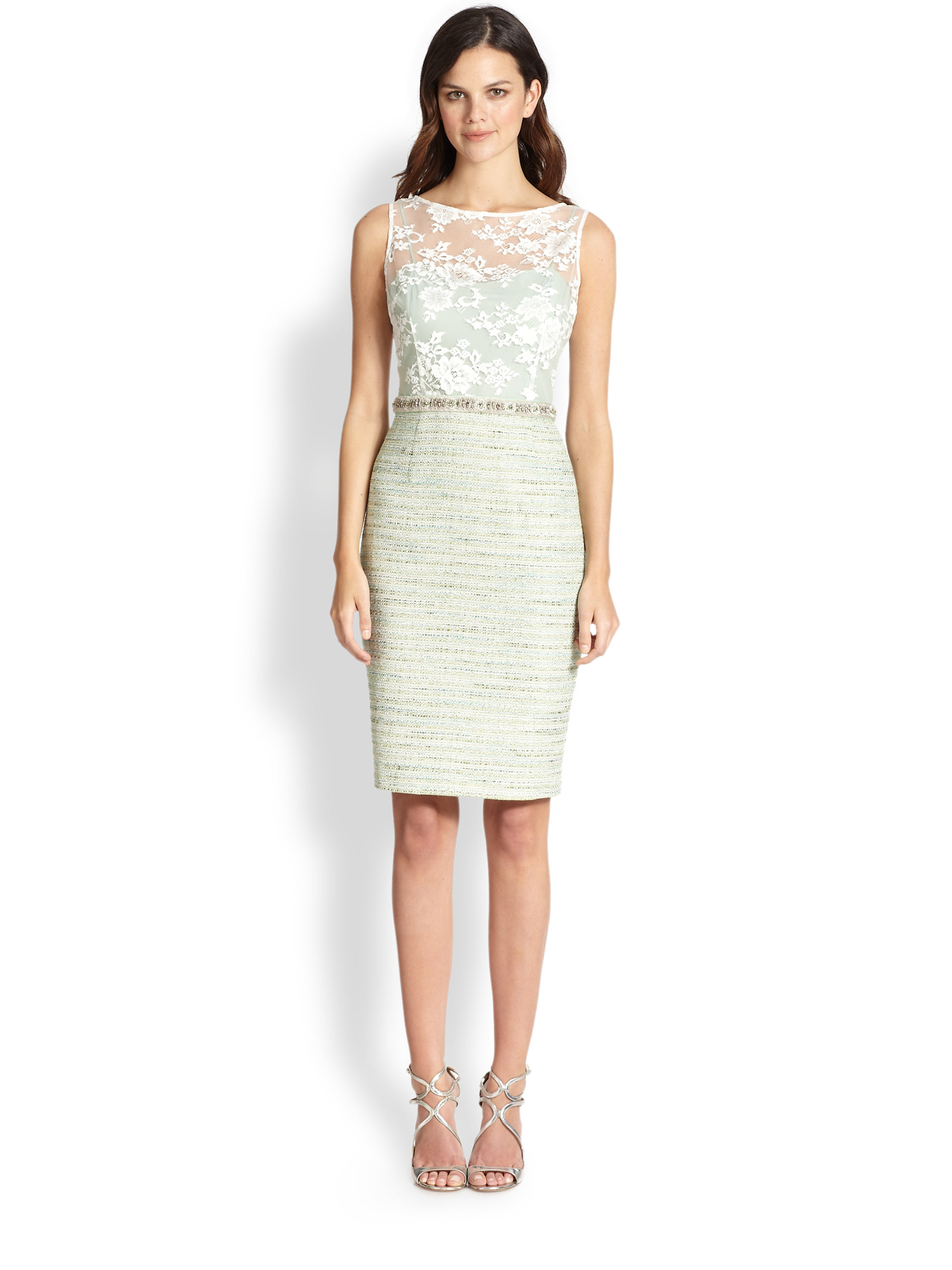 White Cocktail Dresses Lord And Taylor 3