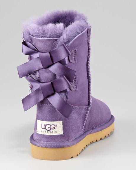 purple bow tie uggs