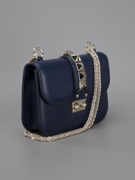 Valentino Blue Shoulder Bag 90